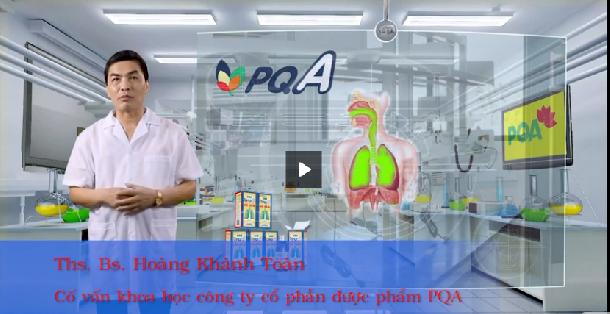 Siro PQA - Thông thoáng đường thở cho người ho hen 30s