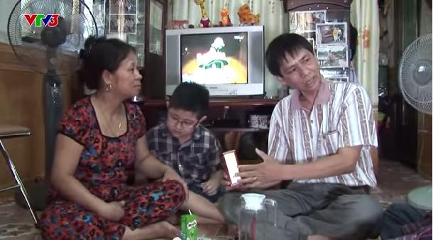 CHIA SẺ - Bé Nghiêm Quang Huy ở Nghệ an bị nấm phổi
