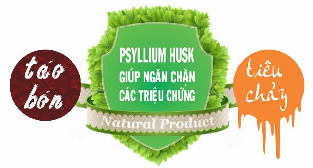 Công dụng của Psyllium Husk cho chứng táo bón và tiêu chảy