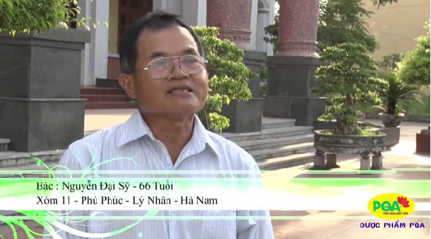 Bác Nguyễn Đình Sỹ - 66 tuổi bị Hen hơn 10 năm
