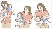 Hướng dẫn vỗ lưng long đờm cho trẻ