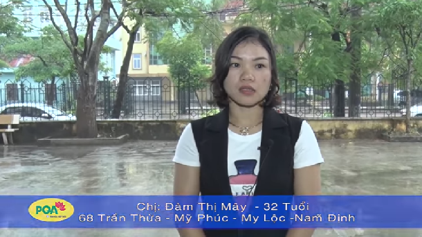 Chị Mây - 32 tuổi, khỏi bệnh trĩ nhiều năm