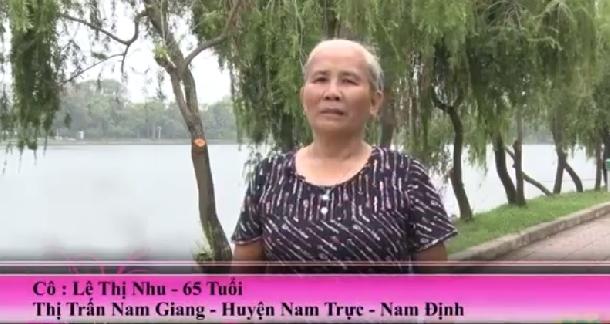 Cô Nhu - 65 tuổi Khỏi nóng trong, chảy máu cam 20 năm