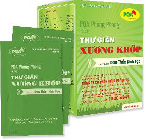 PQA PHÒNG PHONG - THƯ GIÃN XƯƠNG KHỚP