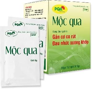 PQA MỘC QUA - Dùng cho người bị gân cơ co rút, đau nhức xương khớp